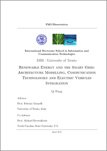 Phd thesis renewable energy