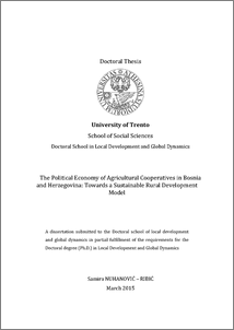 university of trento phd thesis