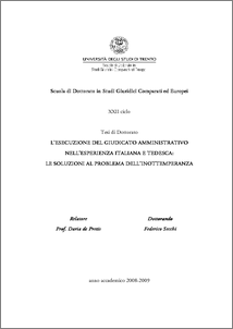 university of trento phd thesis Building engineering, for the best master thesis on structural dynamic  phd  candidate at the university of trento, department of civil,.